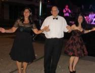 The Ball-goers kept on dancing