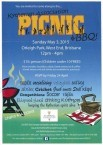 kytherian picnic this sunday .. brisbane.. 3rd may ...!