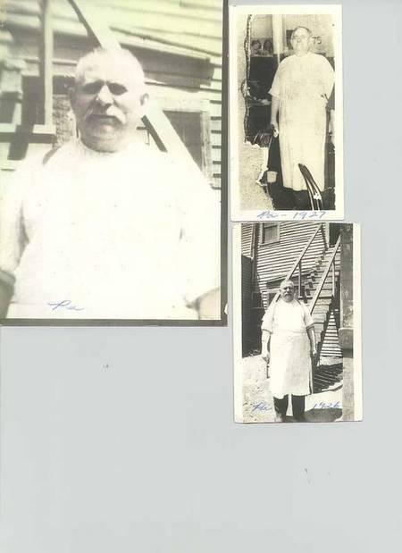 My grandfather, Costas (Constantine) Aronis