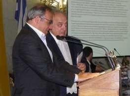 Vasilis Kailas - Vasilis Kailas receiving award
