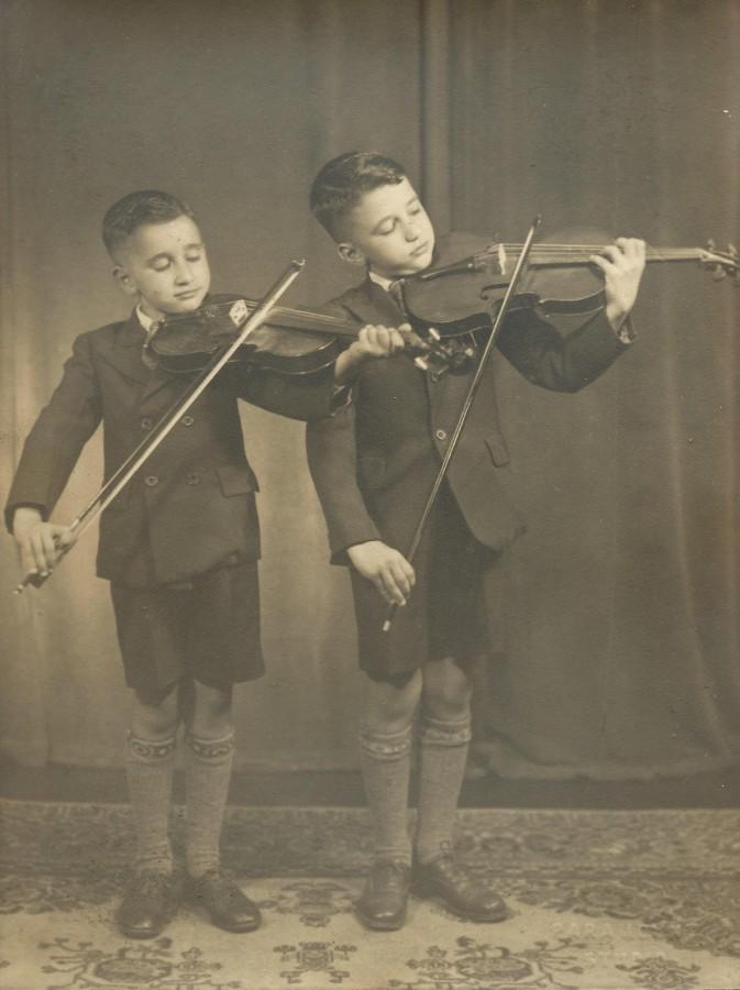 Arthur & Stephen Zantiotis 1938