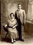 Stamatia & Jim Aroney in 1923