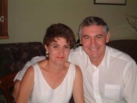 George Souris and his beautiful wife Vassiliki