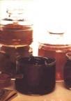 Rose petal jam & fig preserves