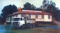 Cominos House, Cairns, on the move.