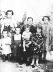 Yeoryia Koroneos (nee, Mentis). With her 6 of her 7 children. c.1939.