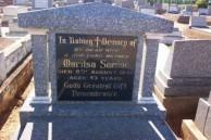 Maritsa Samios. Headstone. Old Dubbo Cemetery.
