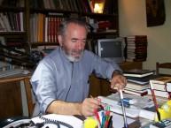 Father Petros Mariatos. Potamos, 2008.