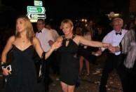 And Ball-goer's kept on dancing