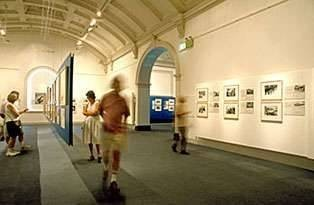 In Their Own Image. Greek Australians - the Exhibition. - Effy and Leonard - State Lib, NSW, interior