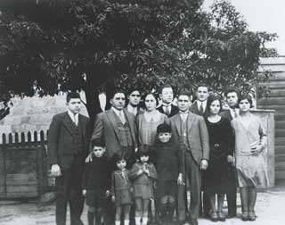 Greeks in Tasmania - Kytherians in Tasmania - Hobart's early Greeks.  Casimaty family and friends, Hobart, Tasmania, c. 1931