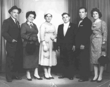 Coroneos, Belos, Karavas, brothers and sisters.