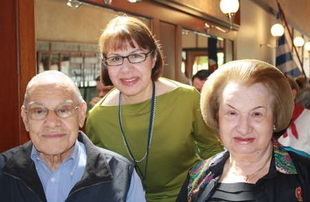 Descendants of Peter Feros. Peter Flaskas and Mary Flaskas, with their daughter
