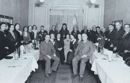 Farewell party for Bishop Nikodimos, 1938