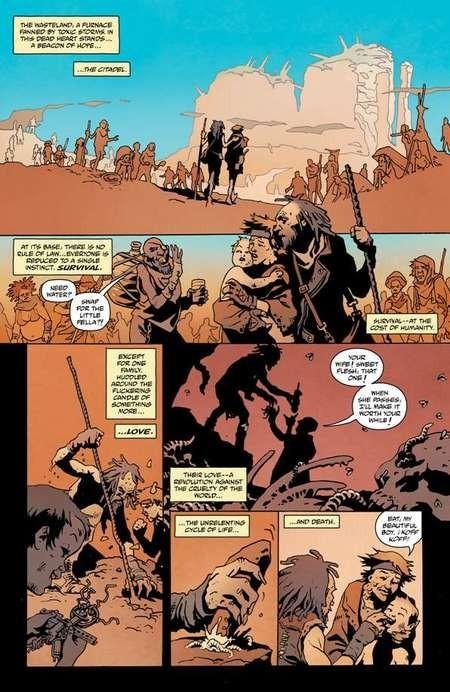Mad Max: Fury Road. Comic. Interior art by Leandro Fernandez