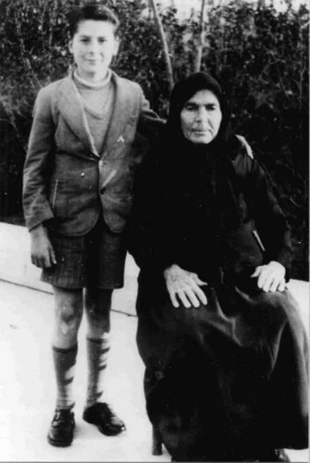 Maria Simos-Levounis. My Story. - Levoune Grandmother &  g son