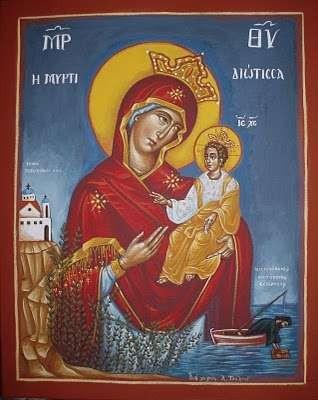 The miraculous icon of Panagia Myrtidiotissa - Panagia_Myrtidiotissa_4