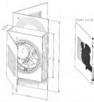 Antikythera mechanism - drawing of the mechanism in situ