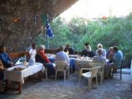 Inside Agia Sophia cave Church