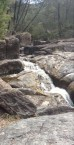 Magnificent gorge and waterfall, the Rocky Creek Glacial Area