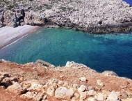 Chalarain Potamos beach on