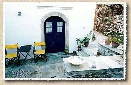 Guesthous Pitsinades - Guesthouse Pitsinades veranta