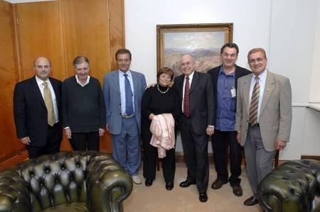 The Leontsini delegation.....