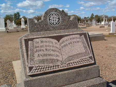 Andronicos John Nicholas