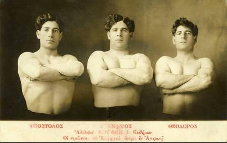 Athanasios, Theodore Combis & Apostolos Combis.