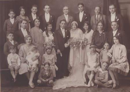 Wedding of Nicholas Sophios to Aspacia Lianos c, 1927