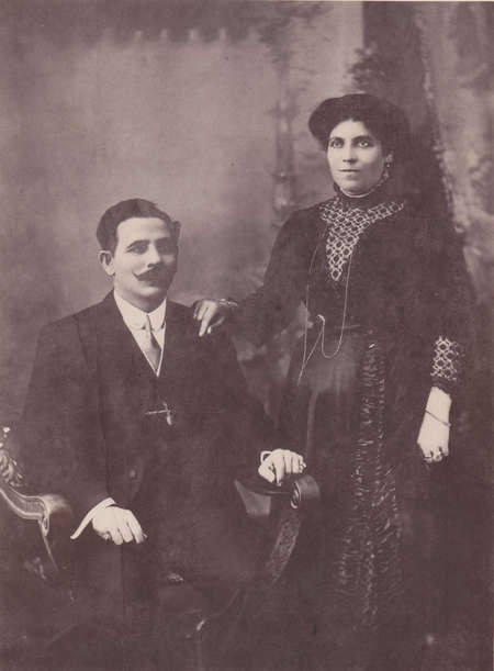 My Grandparents Agapi and George Lianos & their life story