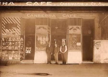 Kytherian Association of Australia. Sydney. - Canberra Cafe, with Cosmas Cassimatis
