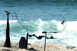 Orest Kerwan* also won First Prize in the 1999 Sculpture by the Sea. - Keywan, Orest. Western Roadtrip