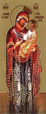 The miraculous icon of Panagia Myrtidiotissa - 0924theotokos-myrtletree