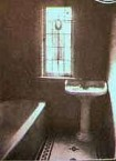 Corones Hotel Charleville, refurbished bathrooms (1992) as per original