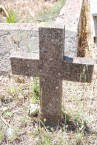 Potamos Cemetery - unknown grave marker (1 of 2)