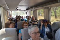 Belrose Rotarians, on the Brownlee bus, during their pilgrimage to Bingara