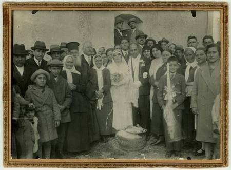 Wedding of Stamatoula Mavromati and Angelo Chlentzos 1931