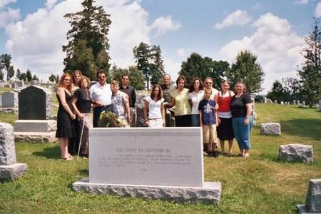 Family Honoring the Spirit of Gettysburg