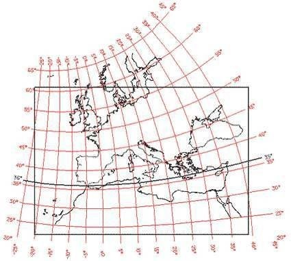 Map 5. Assigning map projections to portolan maps.