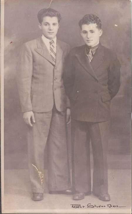 George & Steve Malos - Australia 1939