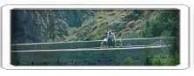 Kytherian bridge, man and donkey.