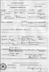 Marriage Certificate of Vrettos Alfieris & Marigo Theodorakakis (Cordato)