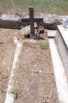 Worn grave marker, Potamos