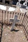 INSCRIBED CROSS. SURNAME ILLEGIBLE-----CEMETERY PANAGIA DESPINA. (VIEW I)
