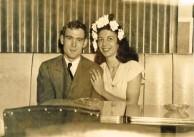 Diana (Diamantoula) Rudkin (nee Lianos) with huband George Rudkin