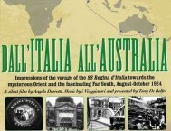 Section from the DVD cover of the film Dall' Italia All' Australia
