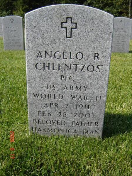Gravestone of Angelo D. Chlentzos