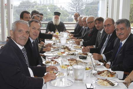 'a bishops lunch'