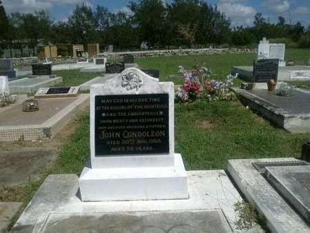 John Condoleon's Gravesite